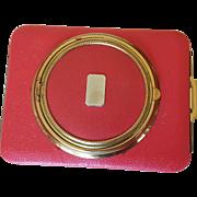 Rare Vintage Lin-Bren Novelty Camera Shaped Combo Compact / Cigarette case