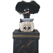 1920's French Vingy Le Golliwogg Perfume Bottle w / Presentation Box EXCELLENT