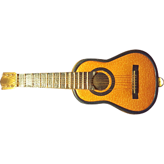 Ultra Rare Aleixandre Madrid Guitar Compact Collector's Dream