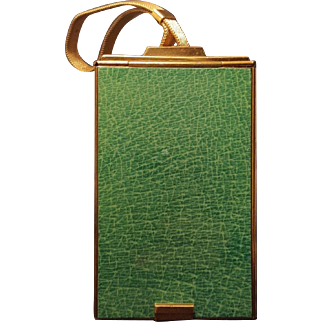 Rare Triple Combo Vanity Purse  w/ Compacts, Money Holder, Cigarette Holder, Note Pad, Money Clip