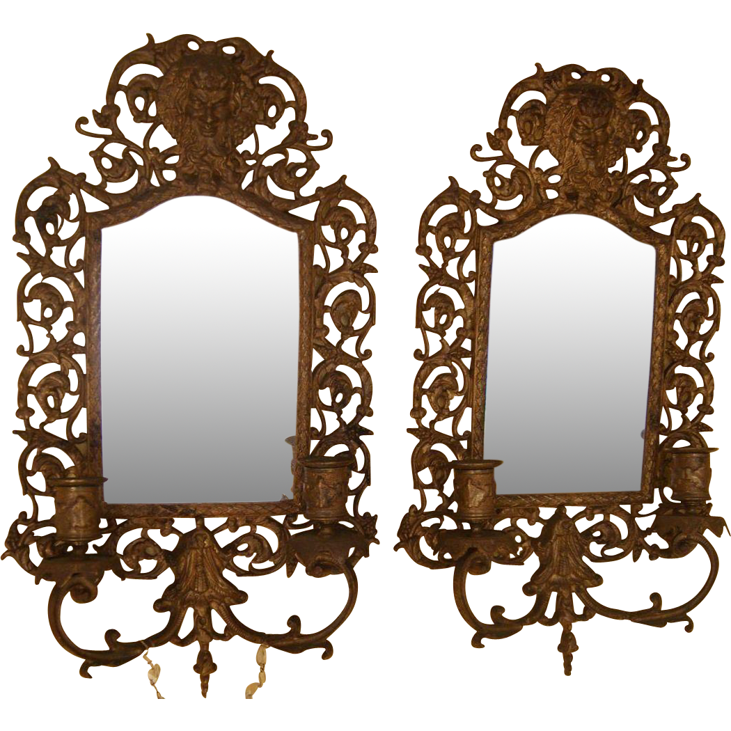 Wall Sconce Candle Mirror : Big 17