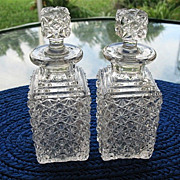 Daisy Button 2 Cologne Bottles Bryce 1880s