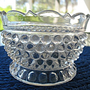 Hobnail with Thumbprint Small Bowl Doyle 1880s
