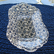 Daisy Button Clear Relish Butter Dish