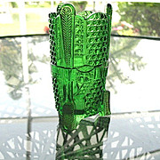 Toothbrush Novelty Pattern US Glass Toothbrush Holder