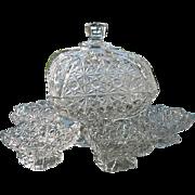 Daisy Button Thumbprints 1891 Compote Honey
