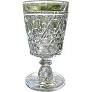 Water Goblet #1 Blockade Pattern Challinor Taylor 1885
