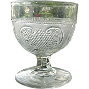 Princess Feather aka Rochelle Buttermilk Goblet 1860s