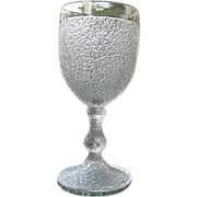 Tree of Life Water Goblet #2 Portland Glass 1870s