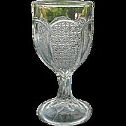 Set 6 Tiny Fine Cut Small EAPG Wine Glasses 1900
