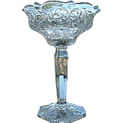 McKee Rock Crystal Tall Comport Jelly Candy