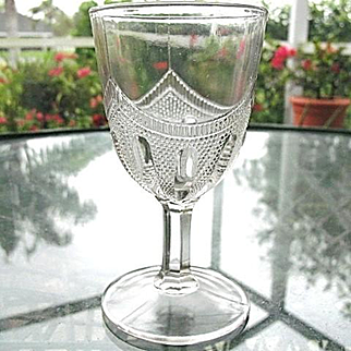 Coachman's Cape Water Goblet Bellaire Goblet Company