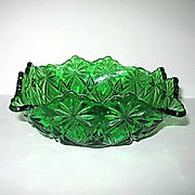 Shoshone Emerald Green Squared Bowl