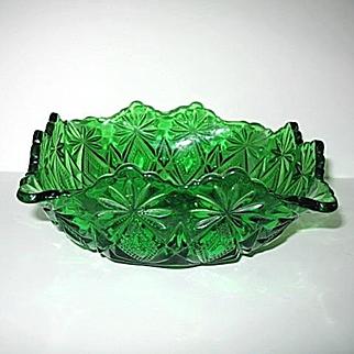 Shoshone Emerald Green Squared Bowl