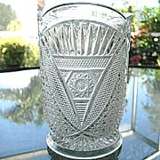 Celery Vase Twin Snowshoes aka Sunbeam 1898
