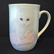 Otagiri Harrison  10 Kitten Pink Ballet Shoe Cups 1980s