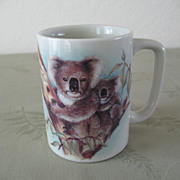 Otagiri Koala Bear Mug Made in Japan 1980s