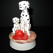 Dalmatian Fire Dogs Otagiri Linda Pickens As Time Goes By