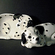 Dalmatian Toothbrush Holder Soap Dish Set Otagiri