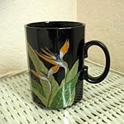 Otagiri Floral Bird of Paradise Mug
