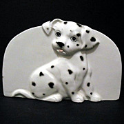 Dalmatian Napkin Sponge Bill Holder Otagiri Made in Japan
