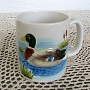 Otagiri Mallard 6 Large Cups Made in Japan 1981