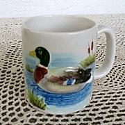Otagiri Mallard 6 Large Cups Made in Japan 1981