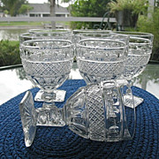 Water Goblets 6 Imperial Glass Tradition 8 oz.