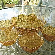 Daisy Button Amber Berry Set 5 pc. Bryce