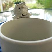 Fitz Floyd Cat Nap 6 Mug Set 1978