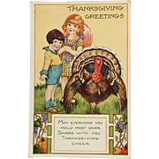 Thanksgiving Cheer And Turkey - Red Tag Sale Item