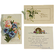 Three Easter Greeting Cards