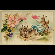 Easter Rabbit Chariot