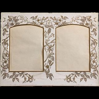 Victorian Photograph Album Mat