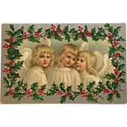 Three Christmas Angels