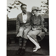 Photograph- 1920's Couple In Style