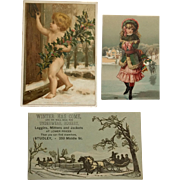 Victorian Christmas Trade Cards