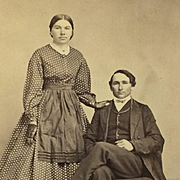 CDV -19th Century Couple