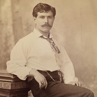 Cabinet Card- Handsome Southern Gent From Memphis