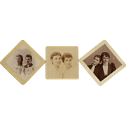 CDV- Trio Of Sisters And Friends