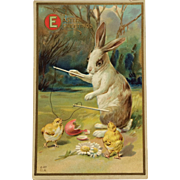 Easter Fantasy Rabbit Plays Diabolo