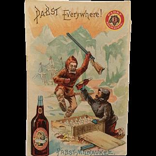 Trade Card- Pabst-Milwaukee Beer