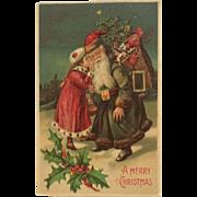 A Secret Wish For Santa In Blue