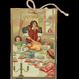 Thanksgiving Card From Teacher