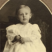 Cabinet Card- Sweet Toddler