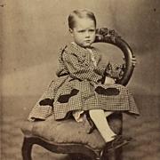 CDV- Civil War Era Toddler