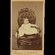 CVD- Little Susie In 1882