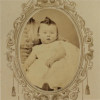 CDV- CWE Baby In Mother's Arms