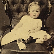 CDV- CWE Toddler With Sore Foot And Shoes Off