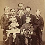 CDV- Family Of Seven
